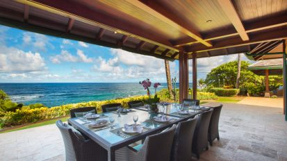 Covered Lanai / Outdoor Dining Area